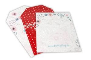 Kartónové obálky s vlastnou potlačou