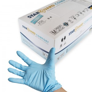 Nitrilové chirurgické rukavice M 250ks